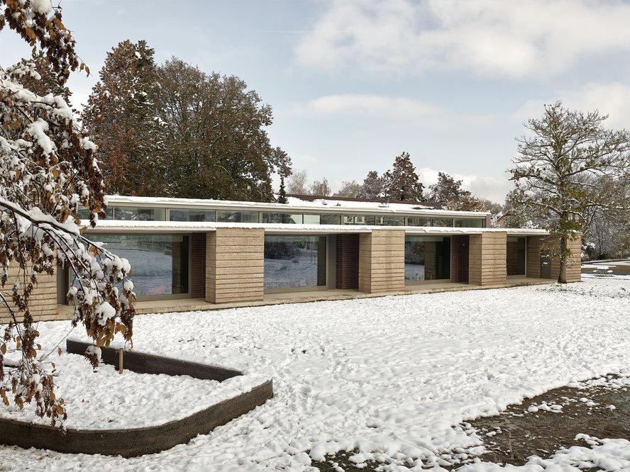 Schulpavillon Allenmoos II Roger Boltshauser
