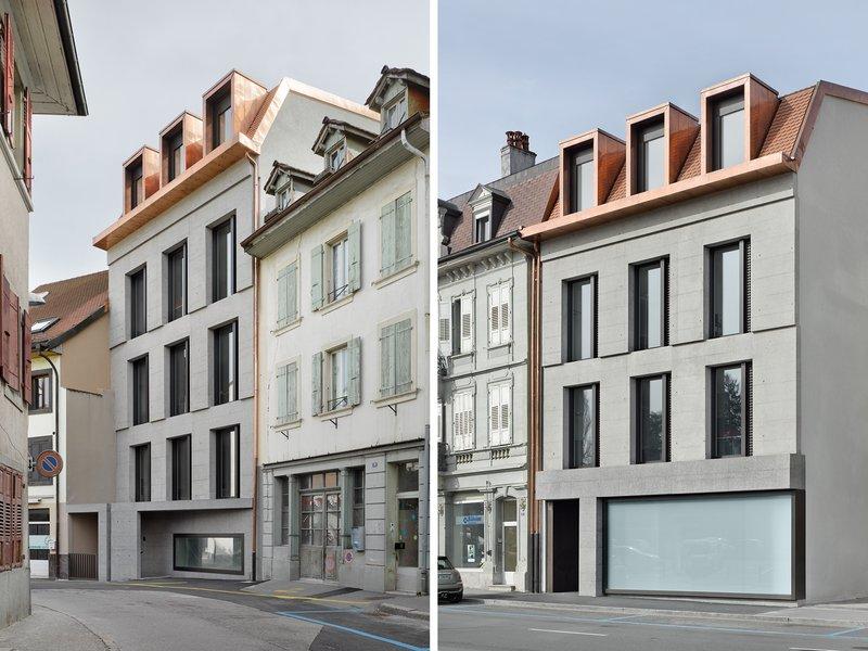 Boegli Kramp Architekten: Court building - best architects 18