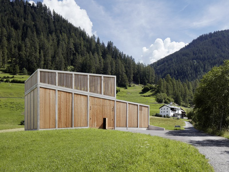 Cangemi Architekten: Ragn d'Err hydropower plant / BKW - best architects 18 in Gold
