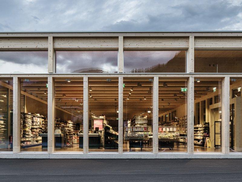LP architektur: MPREIS St. Martin  - best architects 18 in Gold