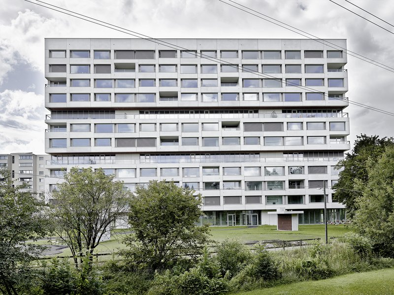 Boltshauser Architekten: Residential Tower Hirzenbach - best architects 18 in Gold
