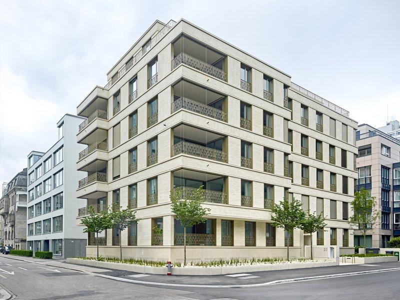 A.D.P. Walter Ramseier Partner: Apartment House Tödistrasse - best architects 18