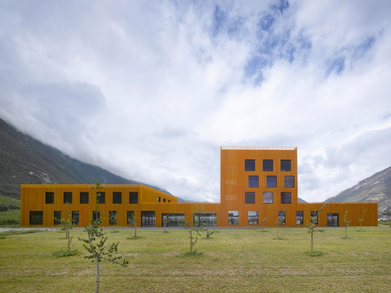 bonnard wœffray architects: SAX Facility for adults with difficulties - best architects 18