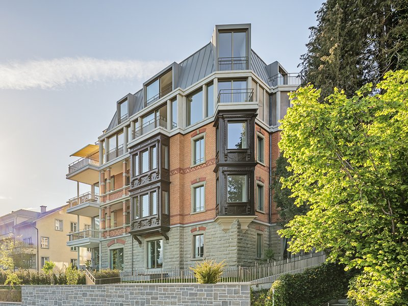 Iwan Bühler: Stadtvilla in Luzern - best architects 18
