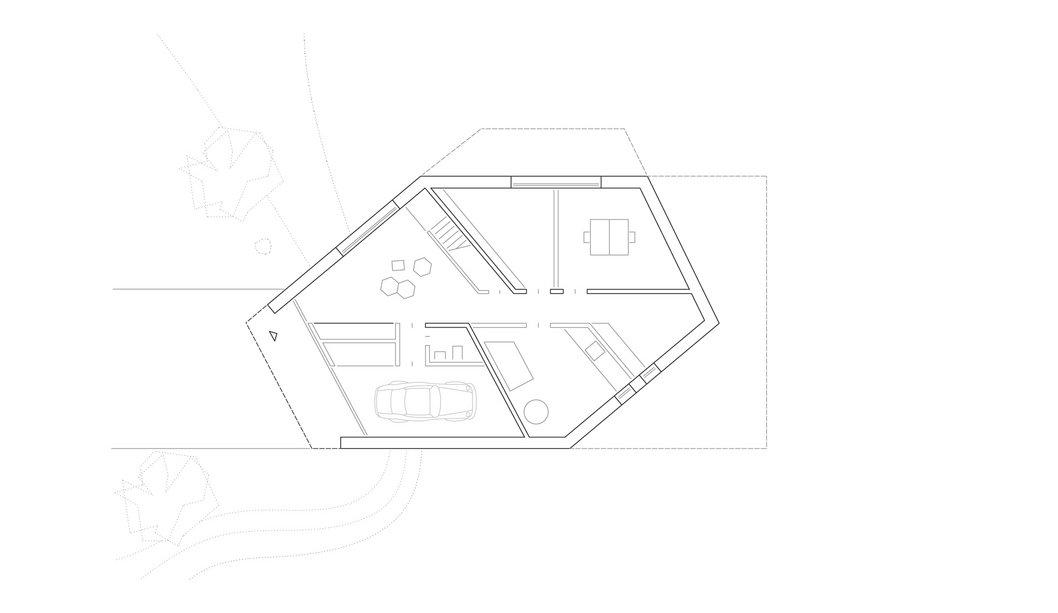Untergeschoss E20 Wohnhaus Steimle Architekten