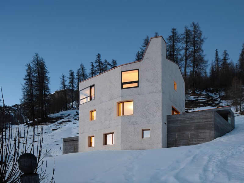 Ruinelli Associati Architetti: Single-family house in Val Monastero - best architects 18