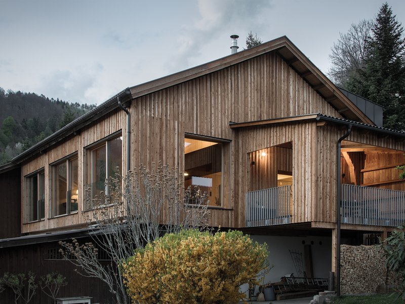 LP architektur: Wohnen in der Scheune - best architects 18