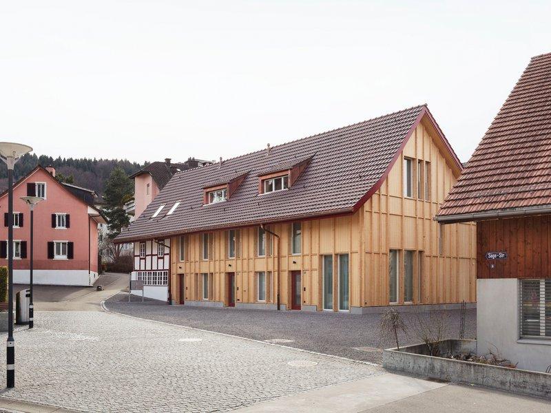 Singer Baenziger Architekten: Sanierung Bauernhaus & Ersatzneubau Scheune - best architects 18