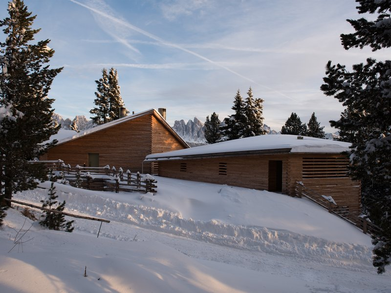 a saggio / bergmeisterwolf: twisted / holiday apartments s on the plose - best architects 18