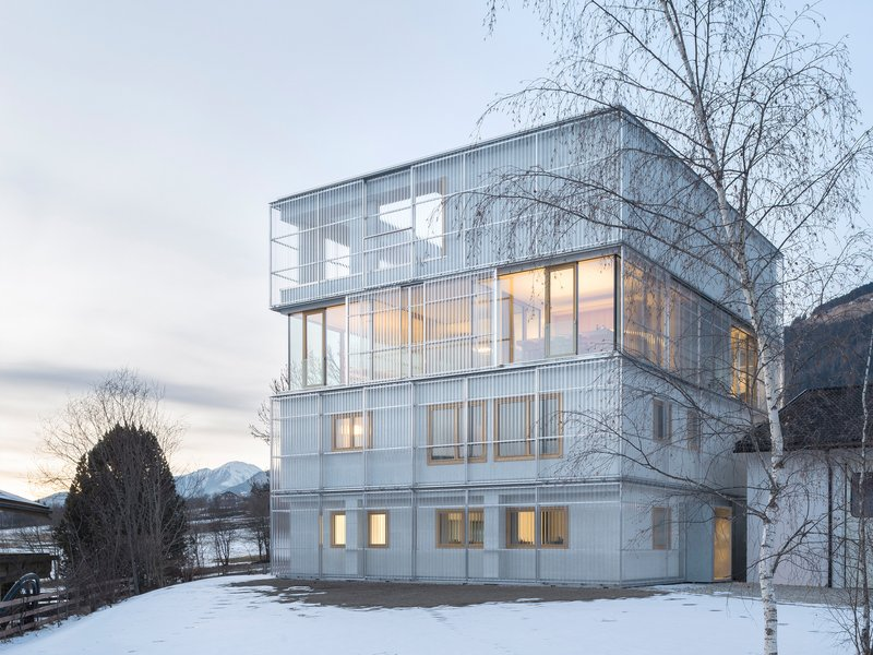 stifter + bachmann: Atelier + Wohnen + Produktion - best architects 18