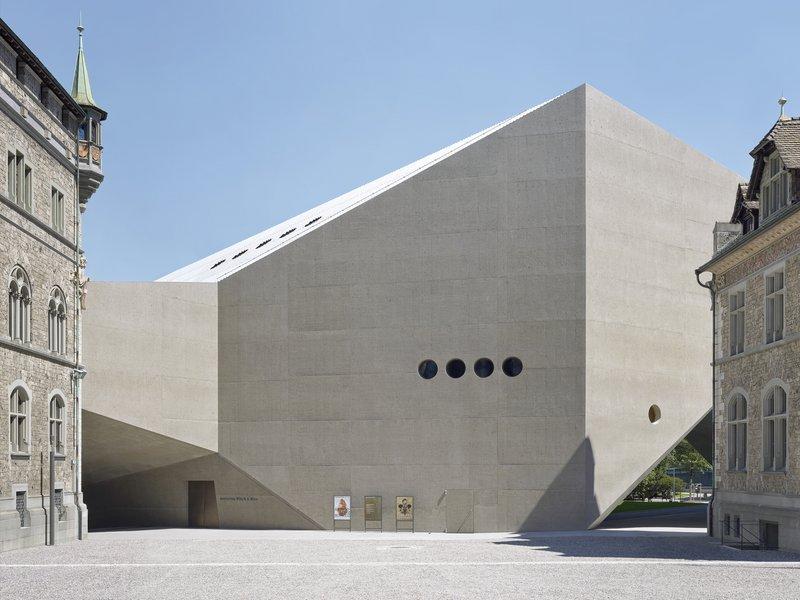 Christ & Gantenbein: Swiss National Museum - best architects 18 in Gold