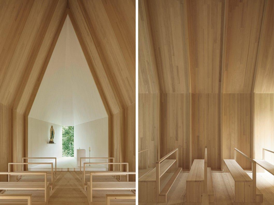 Kapelle Salgenreute Bernardo Bader