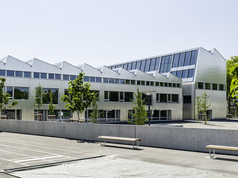 Graber Pulver Architekten AG: Reitmen School - best architects 19