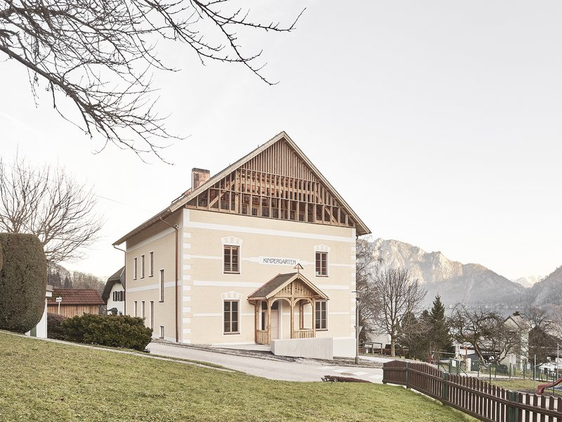 ARGE Hohengasser Steiner Wirnsberger: Kindergarten modernisation - best architects 19
