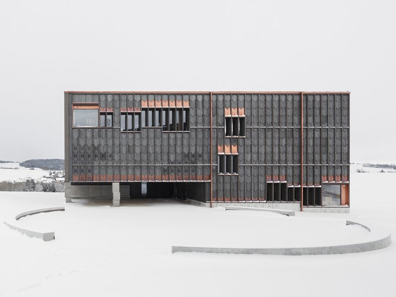 TEd'A arquitectes: School in Orsonnens - best architects 19 in gold