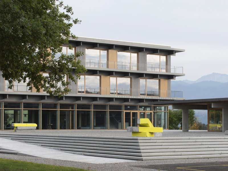Karamuk Kuo Architekten: Neubau Schulhaus Weiden - best architects 19