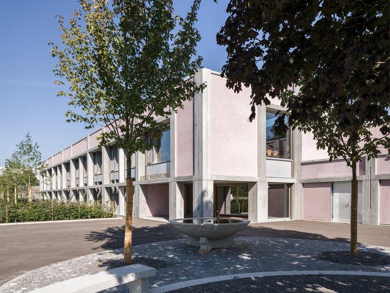 Schmid Schärer Architekten: Extension of secondary school - best architects 19 in gold