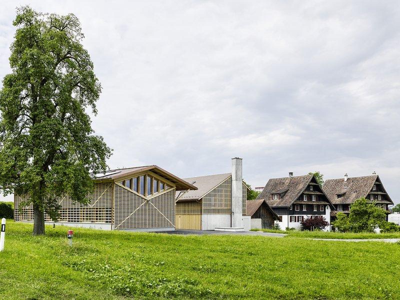 Graber Pulver Architekten ag: Lüssihof redevelopment - best architects 19