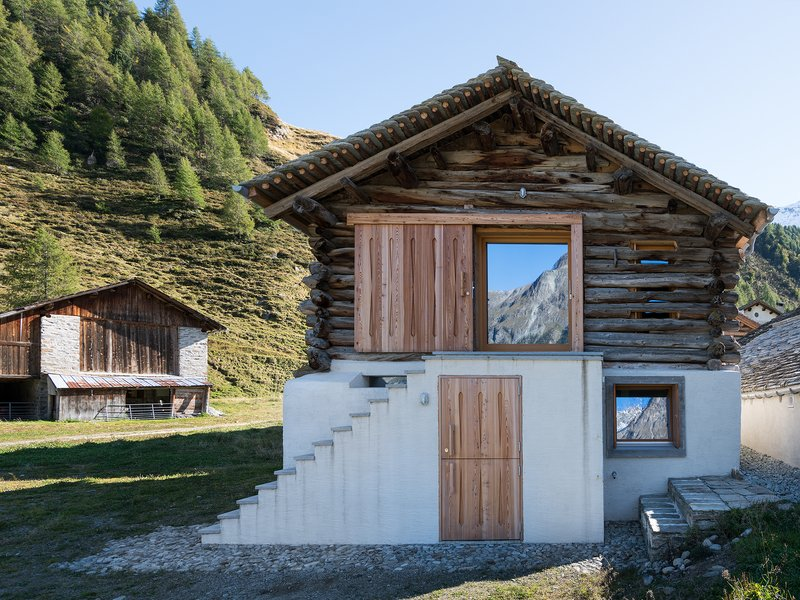 Ruinelli Associati Architetti: Conversion of a barn and remodelling of a farm building in Isola-Maloja - best architects 19