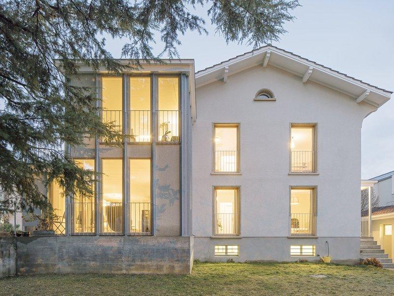DREIER FRENZEL: Multi-family house extension in Renens - best architects 19
