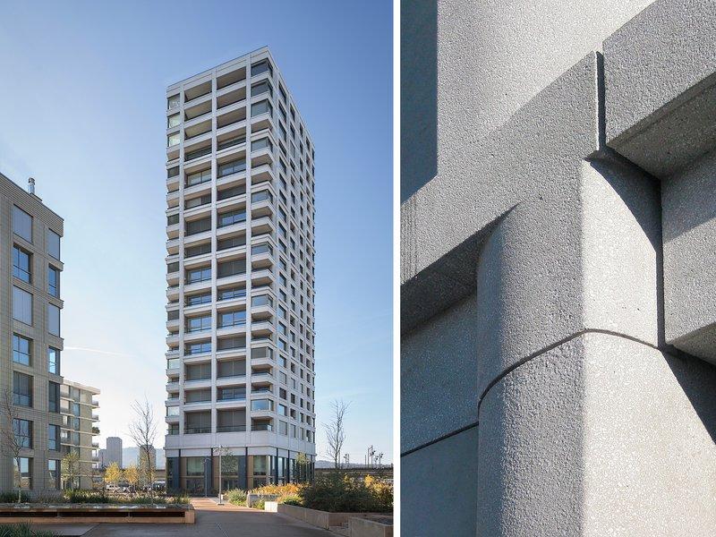 Meili & Peter Architekten: City West - Zölly Tower - best architects 19 in gold