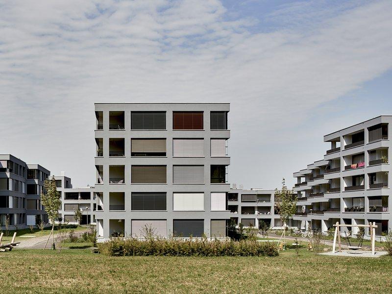 Luca Selva Architekten: Wohüberbauung Widmi-Park / Baufeld 2 - best architects 19