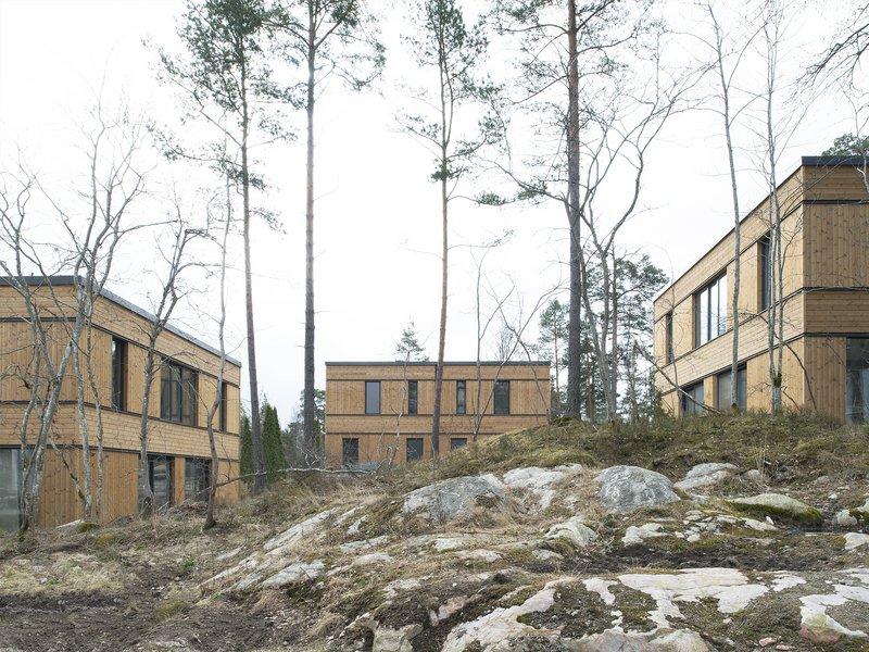 Hermansson Hiller Lundberg: Drei Doppelhäuser in Sunnersta - best architects 19