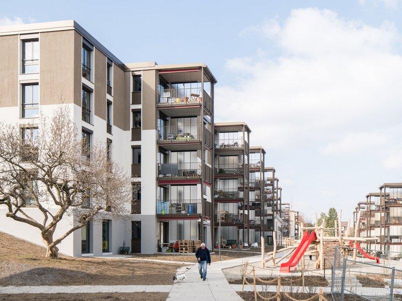 Michael Meier und Marius Hug Architekten: Entlisberg redevelopment  - best architects 19