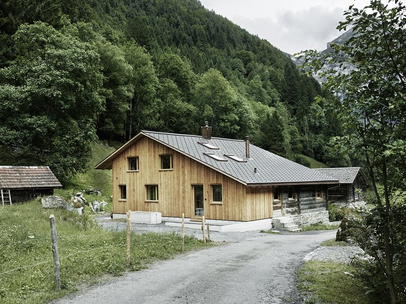Oliver Christen Architekten: Renovation and extension of an old Alpine farm - best architects 20
