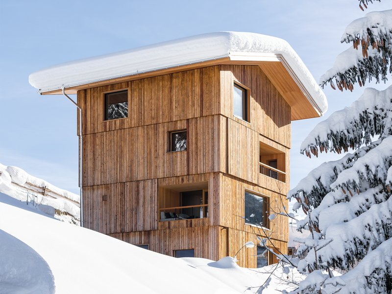 Holzrausch GmbH und Grünecker Reichelt Architekten: Tirol tower house - best architects 20