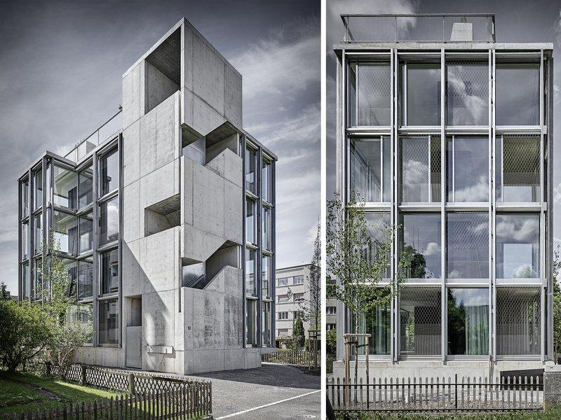 Wild Bär Heule Architekten: Wohnturm, Winterthur - best architects 20