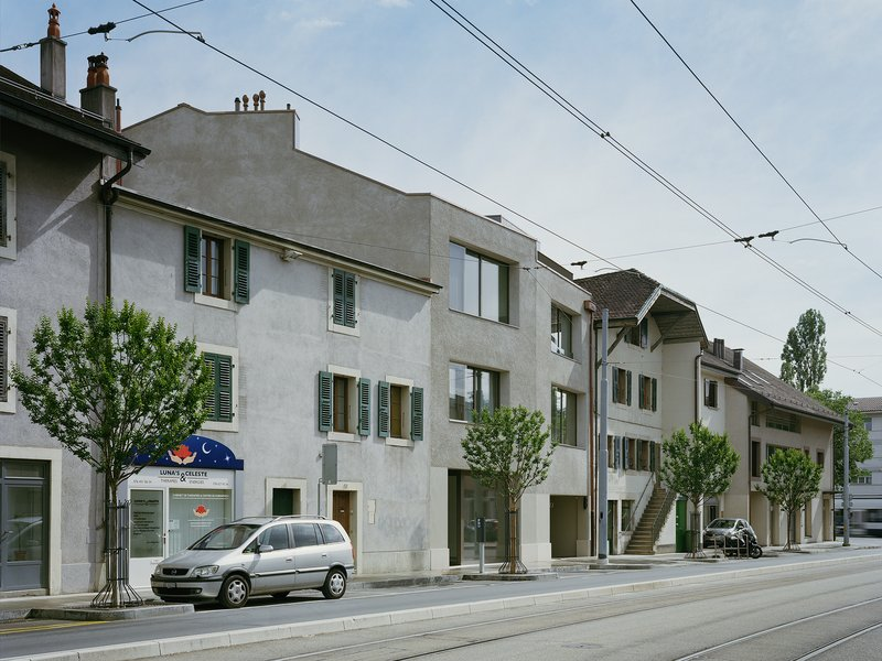 LIN.ROBBE.SEILER: Housing Lancy - best architects 20 gold
