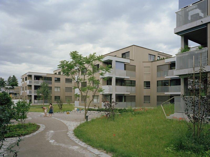 Blättler Dafflon Architekten AG: Wohnsiedlung Riedgraben - best architects 20