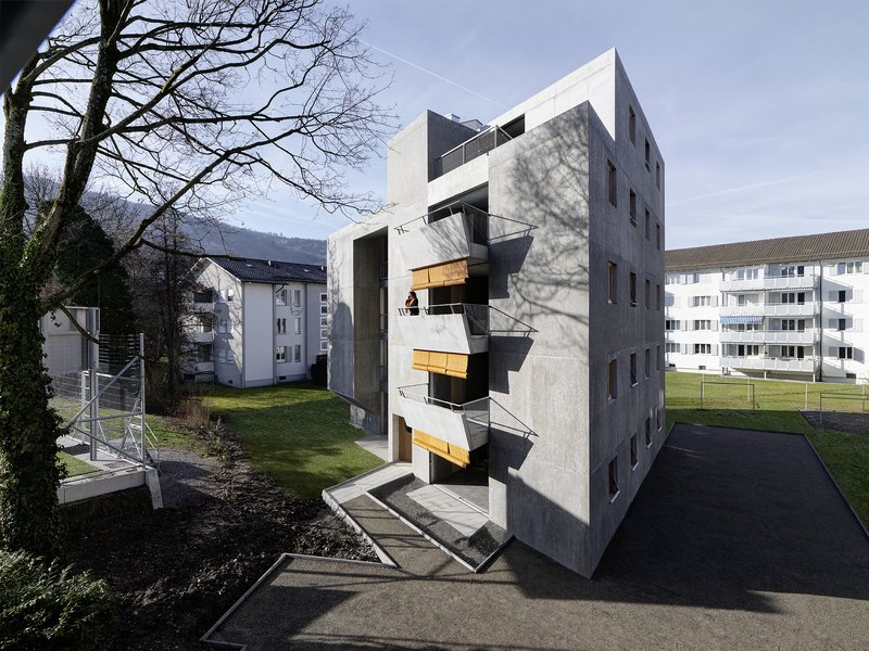 gus wüstemann architects: Bezahlbarer Wohnraum in Zürich für die I+B Baechi Stiftung - best architects 20 gold