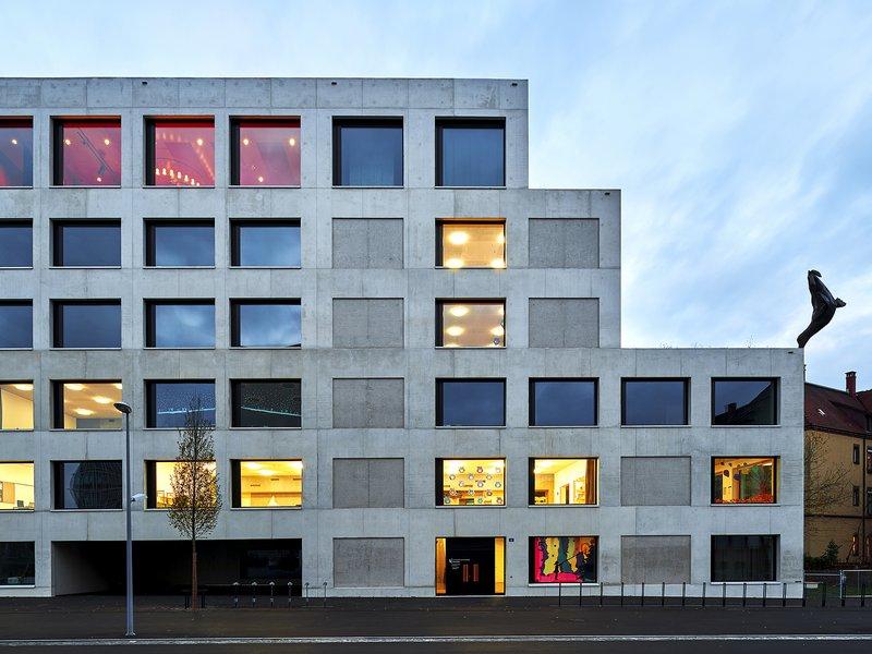 Luca Selva Architekten: New build of the Erlenmatt primary school - best architects 20