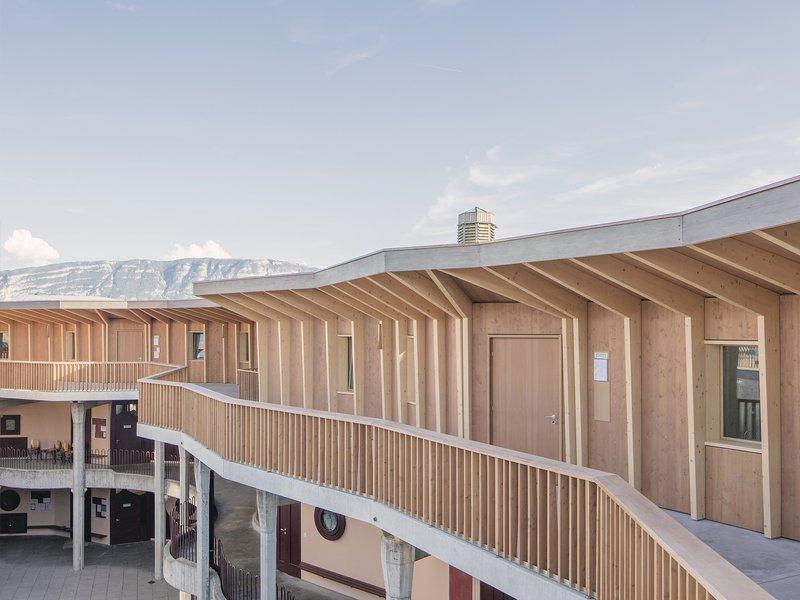 LOCALARCHITECTURE: Rudolf Steiner School of Geneva - best architects 20