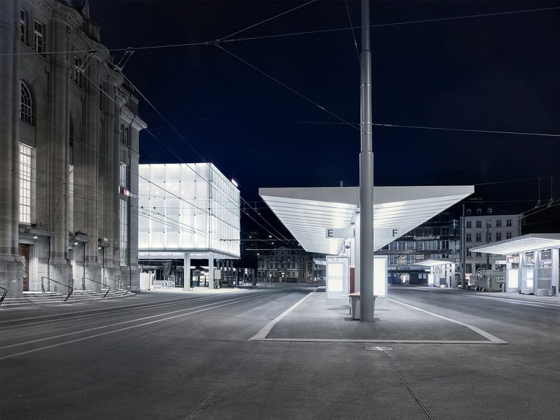 giuliani.hönger architekten: Station and station square St. Gallen - best architects 20