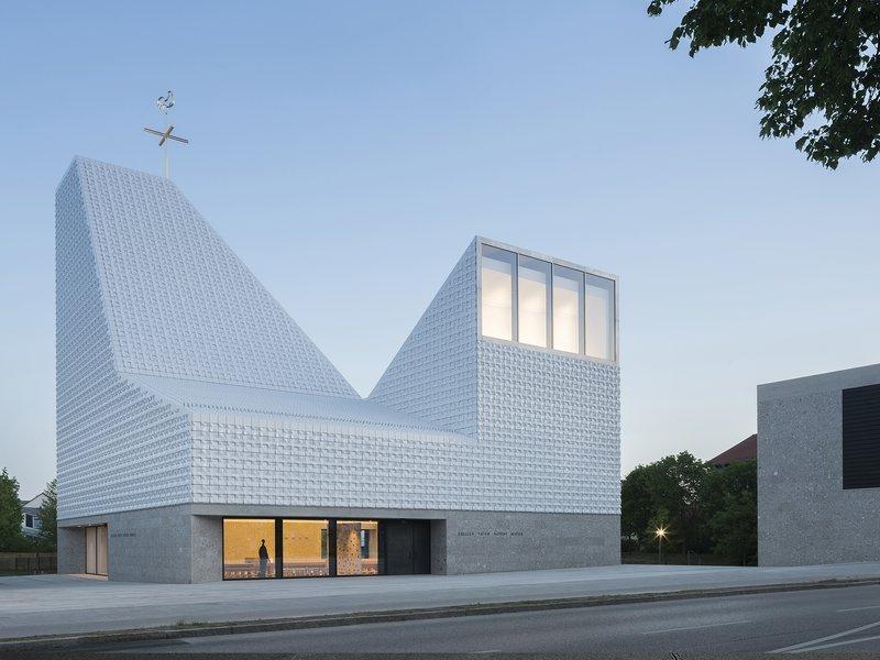 meck architekten: Kirchenzentrum Seliger Pater Rupert Mayer - best architects 20