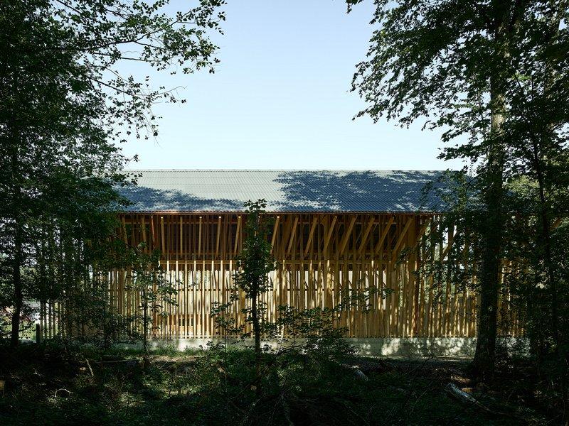 Clou Architekten: Brennholzlagerhalle Dübendorf - best architects 20