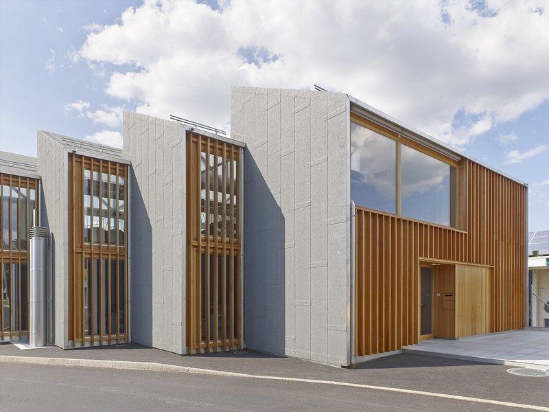 bunq architectes: Intercommunal fire station in Bernex - best architects 20 gold