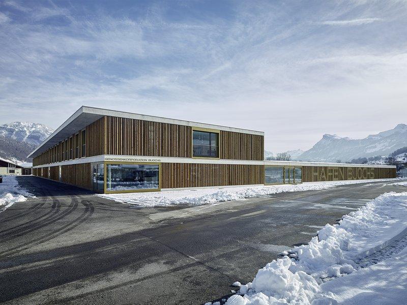 hoeingvoney Architekten: Neubau Hafen und Wassersportzentrum Buochs  - best architects 20