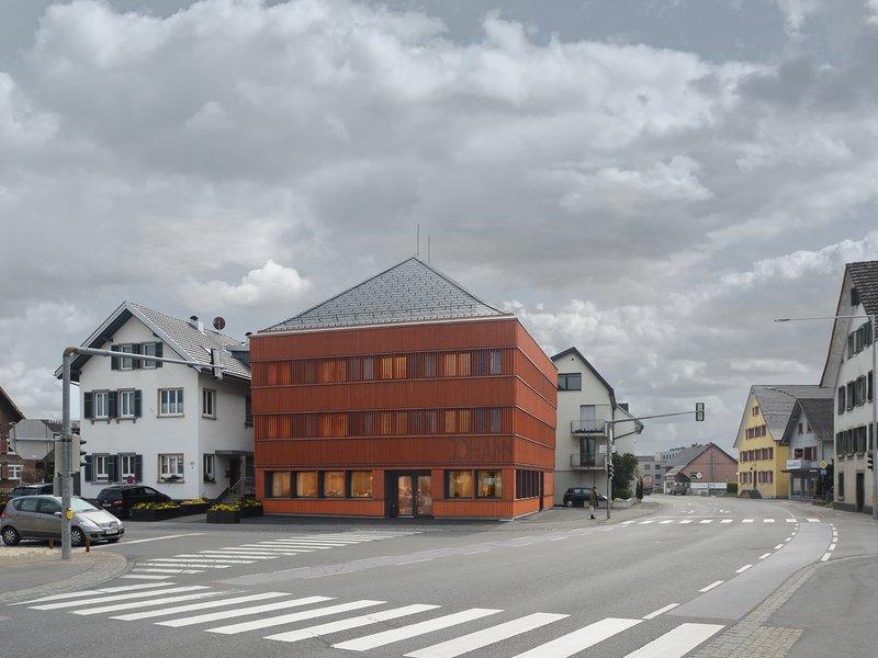 Ludescher + Lutz Architekten: Johann | Gasthaus und Hotel am Alten Markt | Lauterach - best architects 20 gold