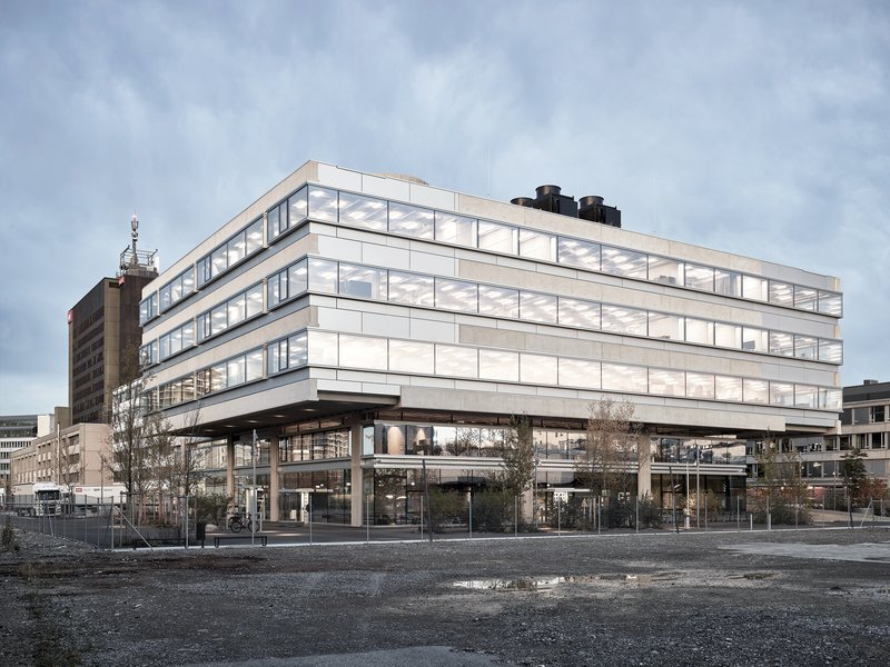 Penzel Valier: SRF Campus Zurich - best architects 21