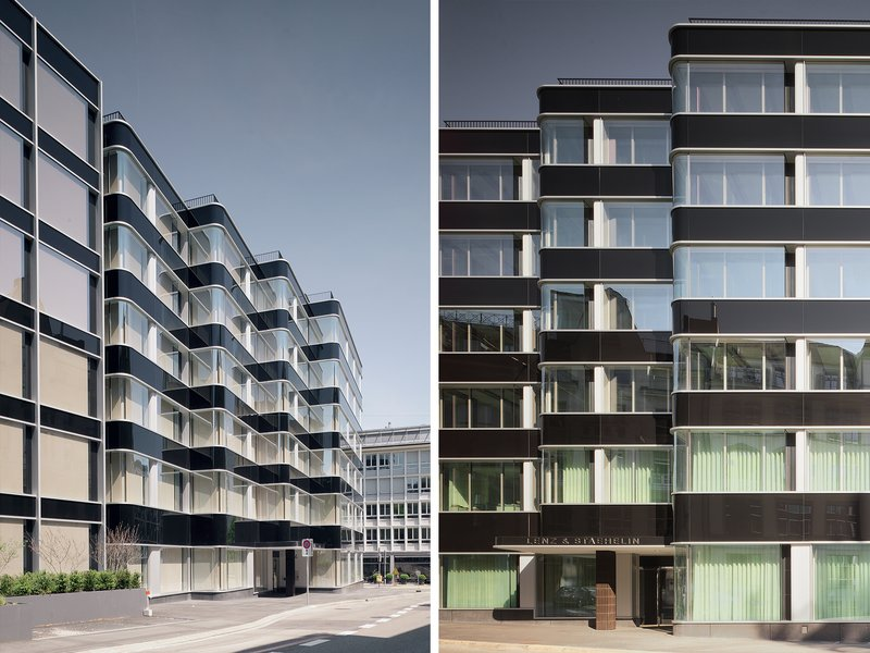 Romero Schaefle Partner Architekten: Transformation of the office buildings at Brandschenkestrasse 24/30 - best architects 21