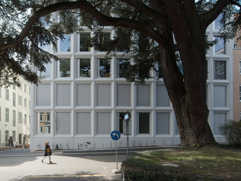 Gunz & Künzle: Plattenstrasse institute building  - best architects 21