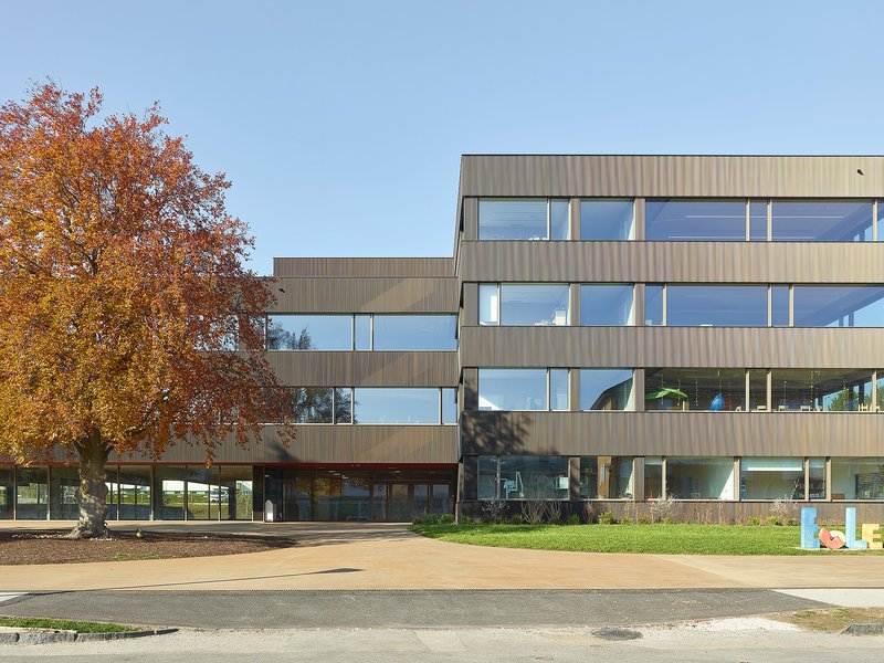 Aeby Perneger & Associés: School complex of Couchant - best architects 21