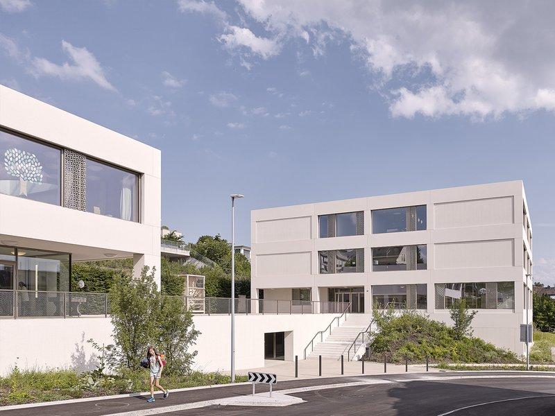BGM ARCHITEKTEN : Neubau Schulanlage Goldbach - best architects 21