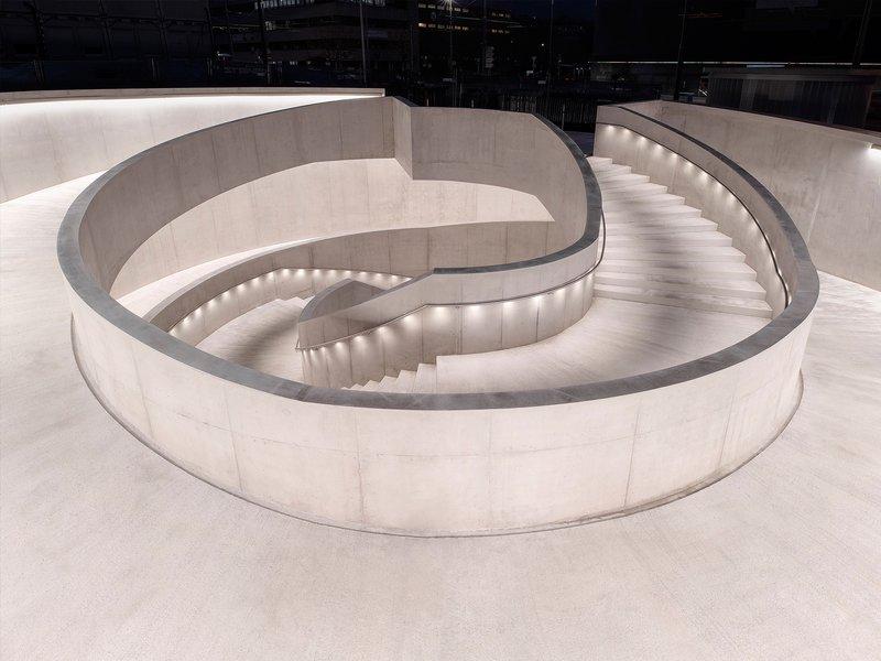 PONT12 architectes: Trait d'union – underpass for non-motorised traffic  - best architects 21