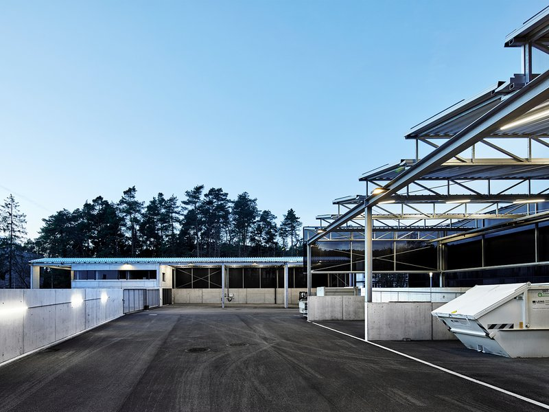 vautz mang architekten: Morgenstelle recycling centre - best architects 21