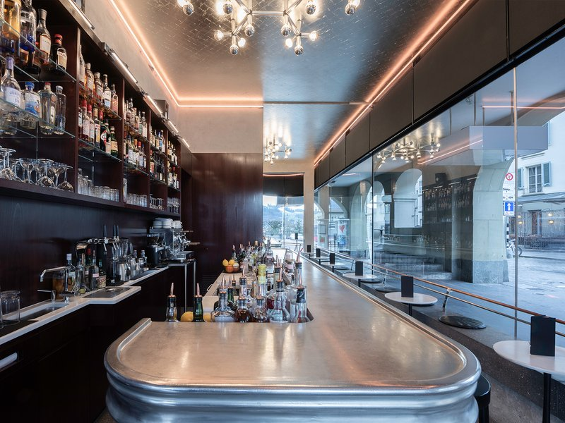 Aebi & Vincent Architekten : Asino il Bar - best architects 21